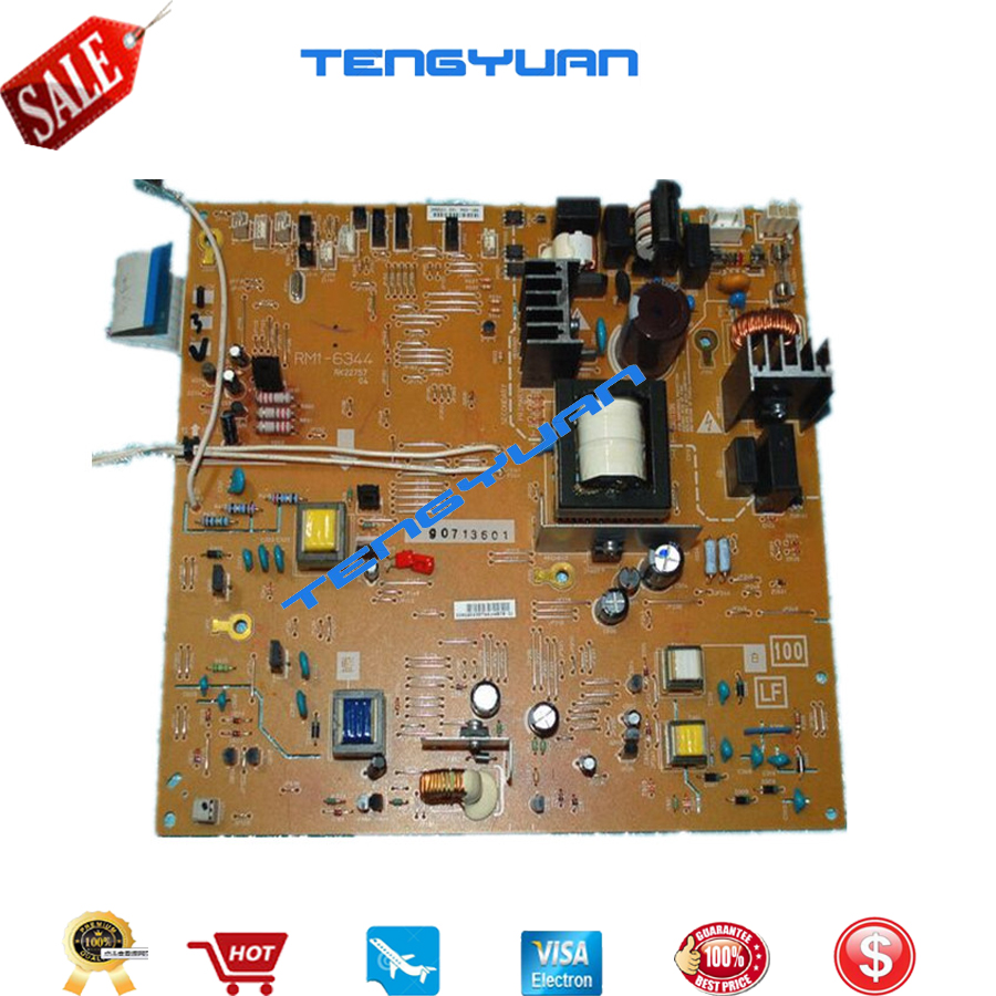 Free shipping 100% test original for HP2035 P2035/2055 Power Supply Board (ECU) RM1-6344-000CN RM1-6344 RM1-6345-000CN RM1-6345 total station battery charger gkl211 for geb211 geb212 geb221 geb222 battery