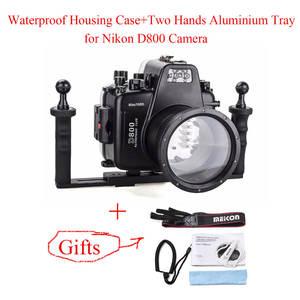 Underwater-Camera Aluminium-Tray Housing-Case Camera-Bags Diving-Equipment Meikon Waterproof