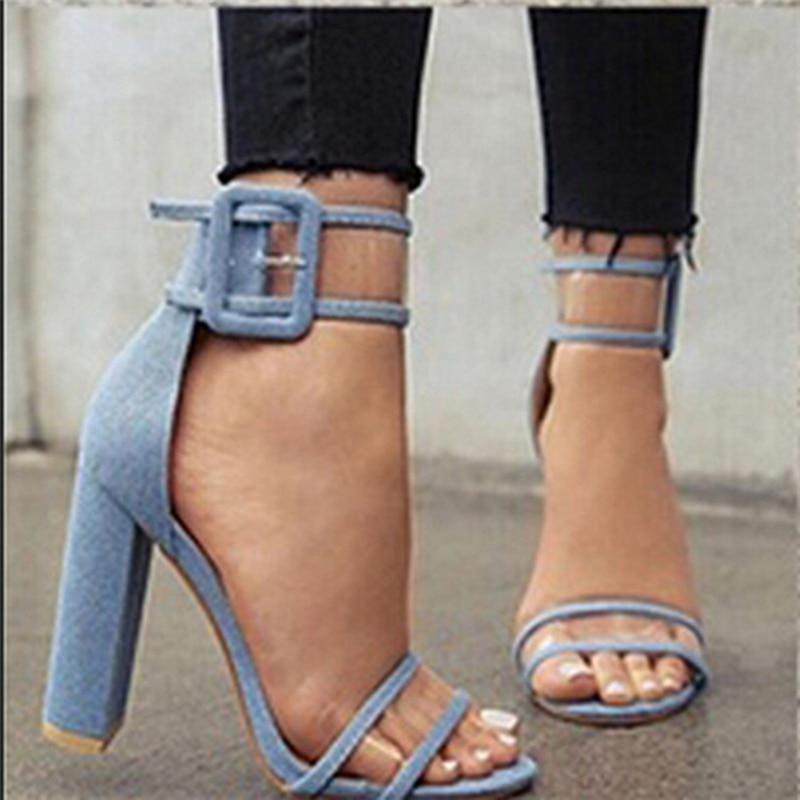 2017 Summer Woman Sexy High Heels Gladiator Sandals Brand Fashion Leather Wedding Shoes Z838 sandalias mujer Plus Size EU 35-43 summer high quality women flats sandals plus size 34 43 new fashion casual ladies sandalias comfort mujer gladiator woman shoes