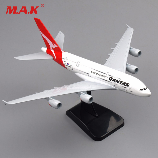 1/400 scale alloy diecast airplanes model toys 20CM A380 spirit of  Australia Qantas aircraft model kids gifts collection-in Diecasts & Toy  Vehicles
