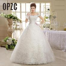 LAMYA Wedding Dresses With Sleeve Ball Gown Bridal Gowns