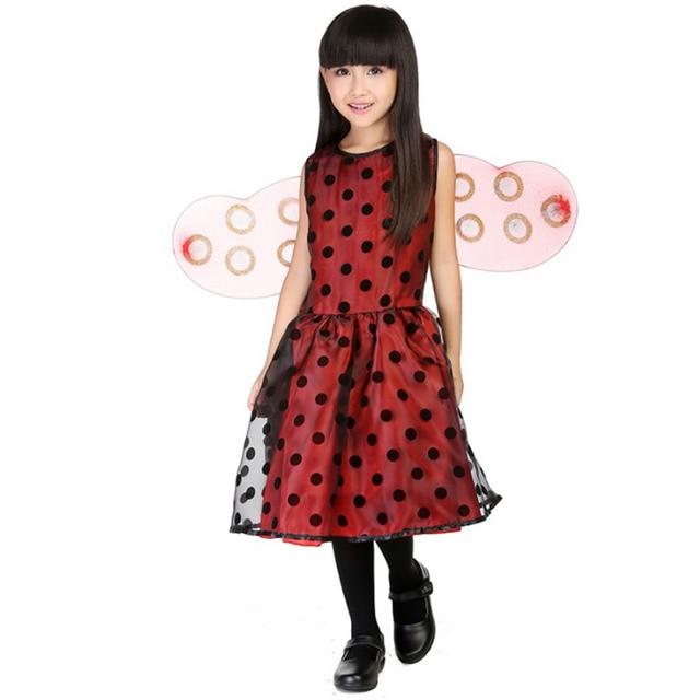 Aliexpress.com : Buy Kids Ladybird Costume Little Girls Fancy ...