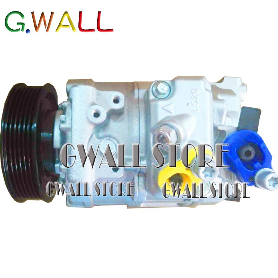 Новый 7SEU16C автомобиль/C компрессор для VW GOLF MK5 1K0820859M 1K0820803E 1K0820859C 1K0820803P