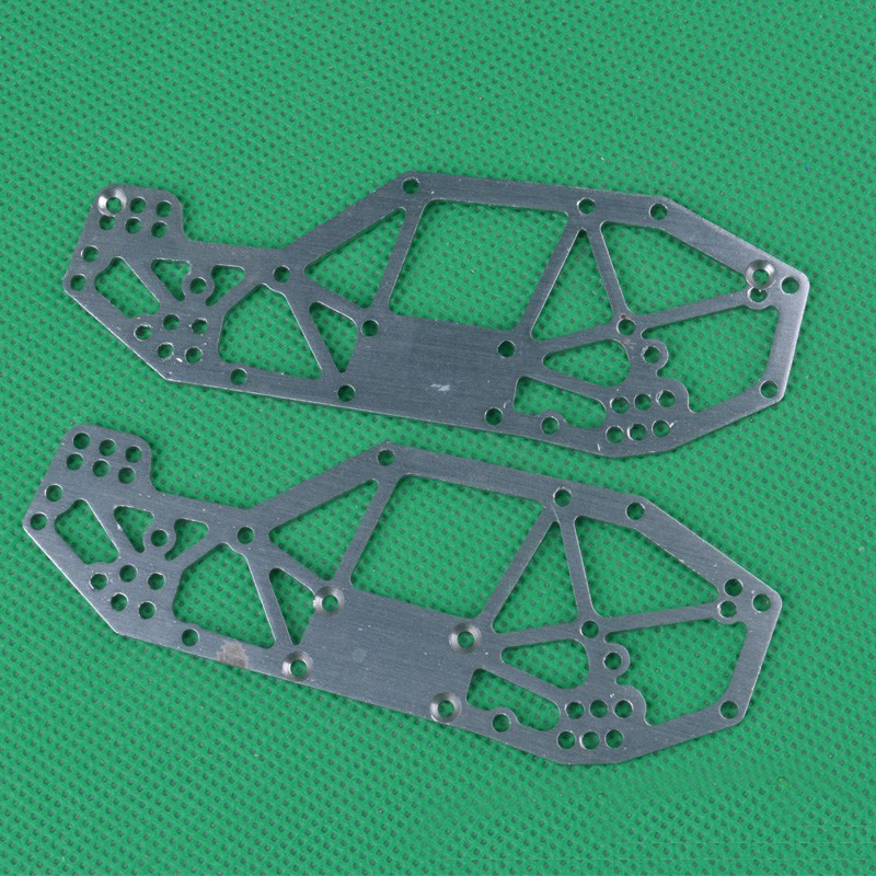 1Set <font><b>HBX</b></font> 1/24 Mini Climbing Car Side Body Panel <font><b>2098B</b></font> Metal Car Frame Guard Shield for 1:24 Four-wheel Drive RC Cars Spare <font><b>Parts</b></font> image