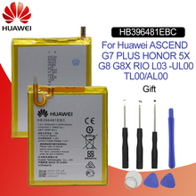 Hua Wei oryginalny wymiana baterii telefonu HB396481EBC dla Huawei Ascend G7 Plus/G8/G8X/Honor 5A/ 5X/Maimang 4 3000 mAh