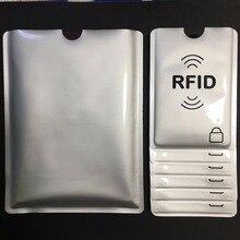 10 + 3 шт., защита от сканирования, RFID, блокировка рукава, кредитная карта и паспорт, для защиты идентификационных данных, банкомат, держатель б...