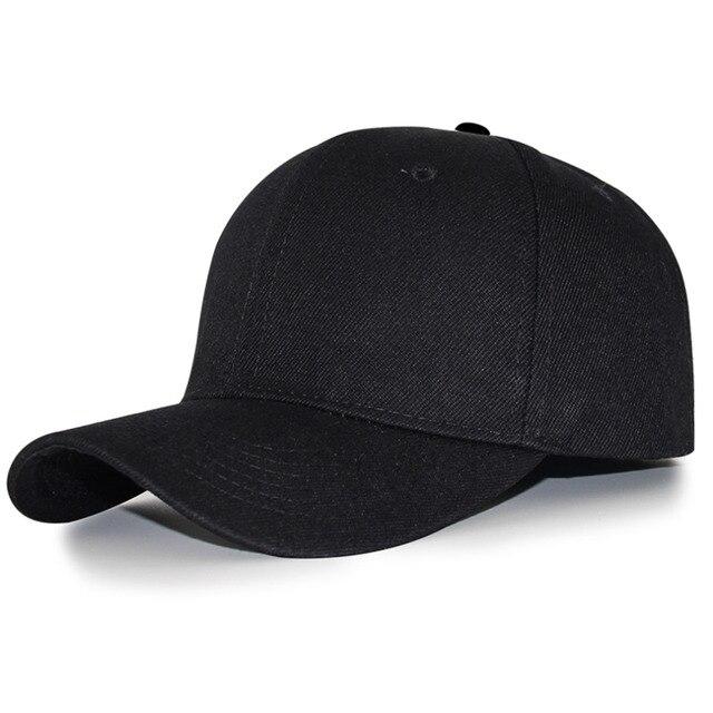 Gorra de béisbol negra para hombre gorra de béisbol de espalda ancha para  niños y mujeres a382274e7e6
