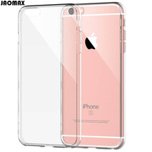 Ultra Slim Crystal Transparent Clear Silicon Case For iPhone 6 6S 6 Plus 6s Plus 5 5S SE 7 7 Plus Soft TPU Phone Back Fundas