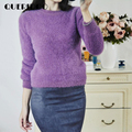 QUERIDOO Sweater Women 2017 Cashmere Pullovers Thick Warm Knitted Wear Tops For Woman Ukraine Pull Femme sueter muje vodolazka