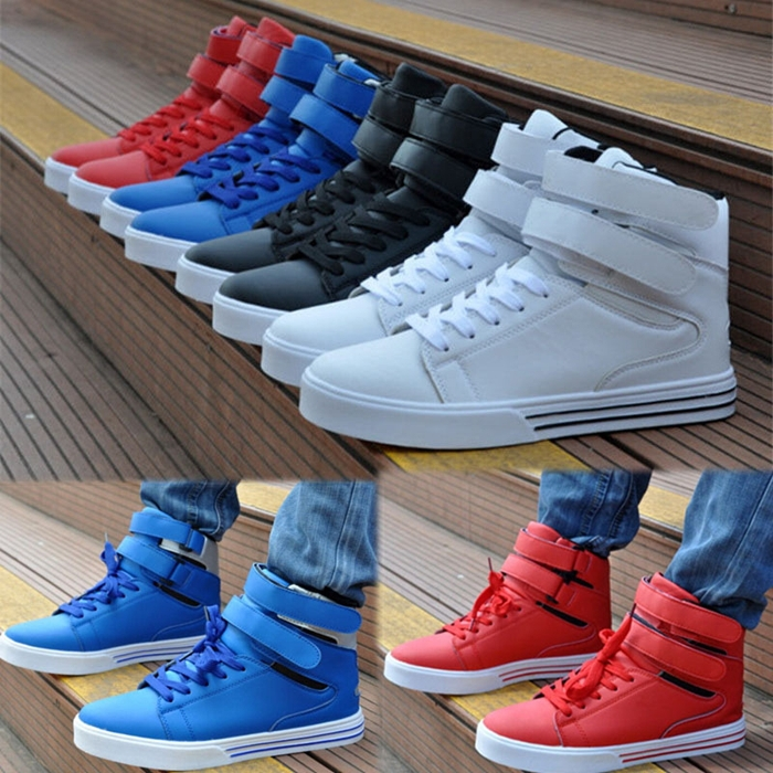 Simple Velcro Casual Shoes