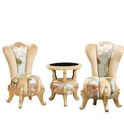 Уникальный дизайн bumpkin Европейский стиль тканевая софа для отдыха кофейный набор для чайного столика стул для спальни гостиной ProCARE мебель