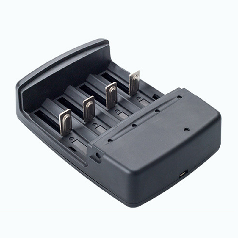 4 Slots batterie smart ladegerät für 3,7 v 18650 18350 26650 10440 14500 16340 1,2 v NI-MH NI-CD AA AAA 1,5 v Alkaline batterien