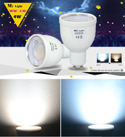 Milight 2 4G GU10 4W Wireless LED Dimmable Bablle Dual White WW CW Dimmable LED Smart
