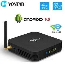 VONTAR TX6 Android 9.0 TV, pudełko Allwinner H6 czterordzeniowy 4GB 64GB USB3.0 podwójny Wifi BT HDR 4K 4GB 32GB dekoder 4GB 32GB 2GB 16GB