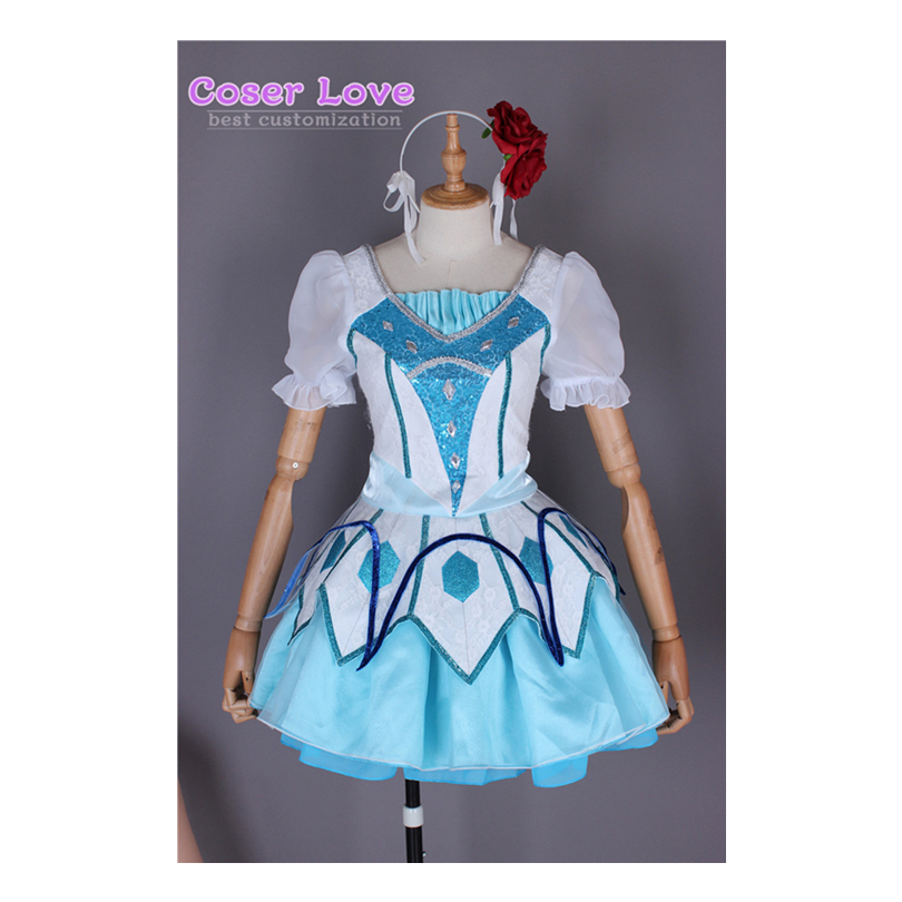 WATER BLUE NEW WORLD Kurosawa Dia Cosplay Carnaval Costume Halloween Christmas Costume