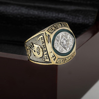 Solid 1968 New York Jets Super Bowl Football Championship Ring Size 10 13 With High Quality