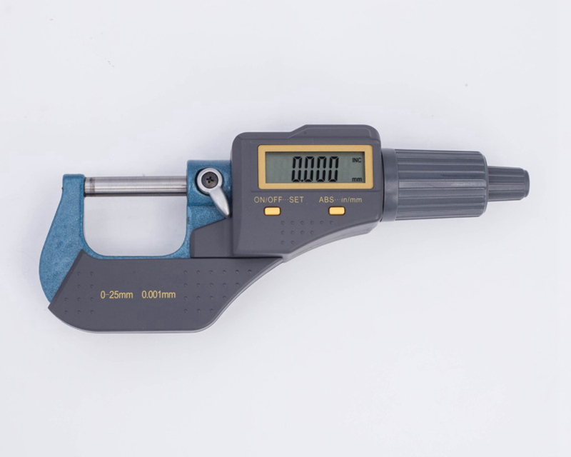 цены  High Quality 0-25mm Micron Digital Outside Micrometer Electronic Micrometer Gauge Meter 0.001mm Measuring Gauge Tools With Box