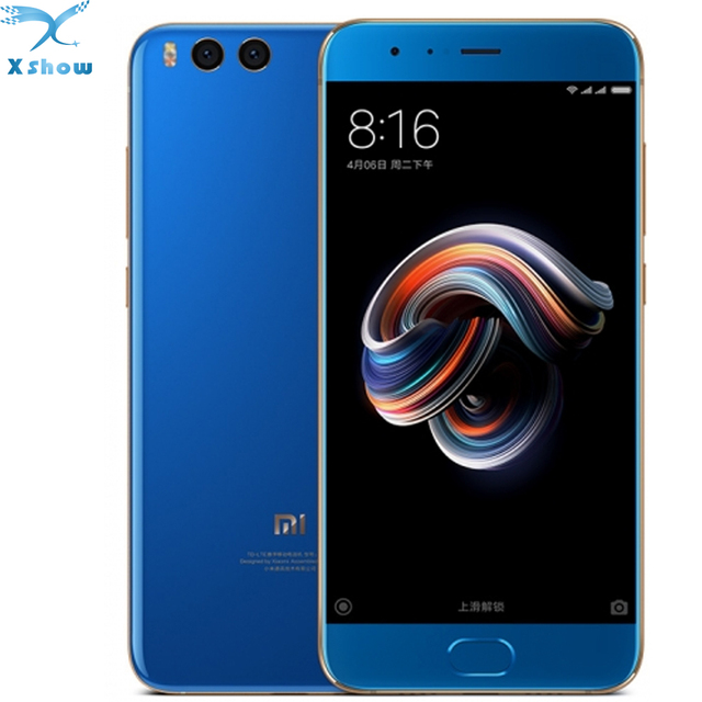 Original Xiaomi Note 3 mi note 3 Mobile phone 6GB RAM 64GB ROM MIUI 9 Snapdragon 660 Octa Core 5.5'' Dual Cameras mobilephone