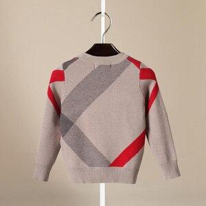 Image 4 - קרדיגן עבור בנות 2018 מותג עיצוב צמר כותנה סריגי חורף תינוק סוודר ילדי בגדי בני סוודר ילדי תינוק סוודר
