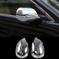 2016 2pcs/set Car Styling Rearview Mirror Cover Sequins Decorative Frame ABS Chrome Exterior Accessories For Honda CRV 2012-2015