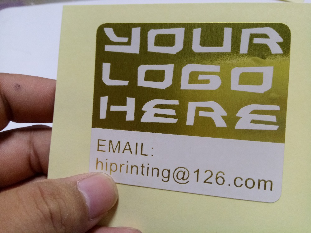 Gold Shipping Labels Promotion-Shop for Promotional Gold Shipping ...