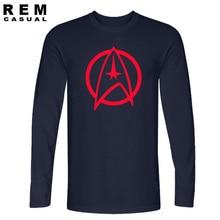 New Arrival High Quality Star Trek Funny Tshirts Vulcan Longevity And Prosperity Men T Shirts Fashion