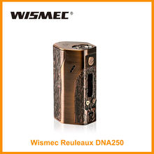 USA/Russian Warehouse Original Wismec Reuleaux DNA 250 Box Mod Output Wattage 250W Evolv DNA TC/VW Mod By18650 (no cell) E-Cig(China)