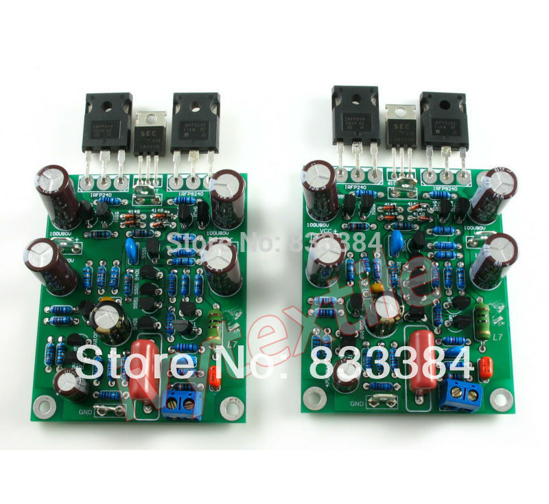 class ab l7 mosfet audio power amplifier boards dual channel 300 350w x2 assembled board in. Black Bedroom Furniture Sets. Home Design Ideas