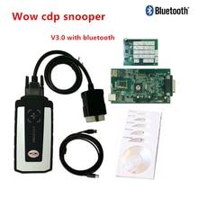 2018 Top Wow cdp Snooper Bluetooth voiture camion outil de Diagnostic logiciel V5.008 R2 V5.00.12 avec Keygen meilleure qualité