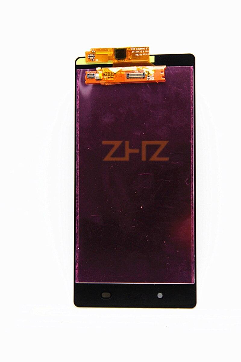 100% testé pour Sony Xperia Z2 L50W LCD écran tactile numériseur assemblée D6502 D6503 pour SONY Z2 LCD 3G remplacement