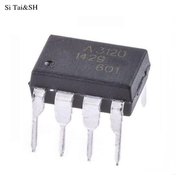 10pcs/lot Optocouplers HCPL-3120 HCPL3120 3120 A3120 DIP8 new original LCD power management chip a4504 hcpl 4504 hp4504