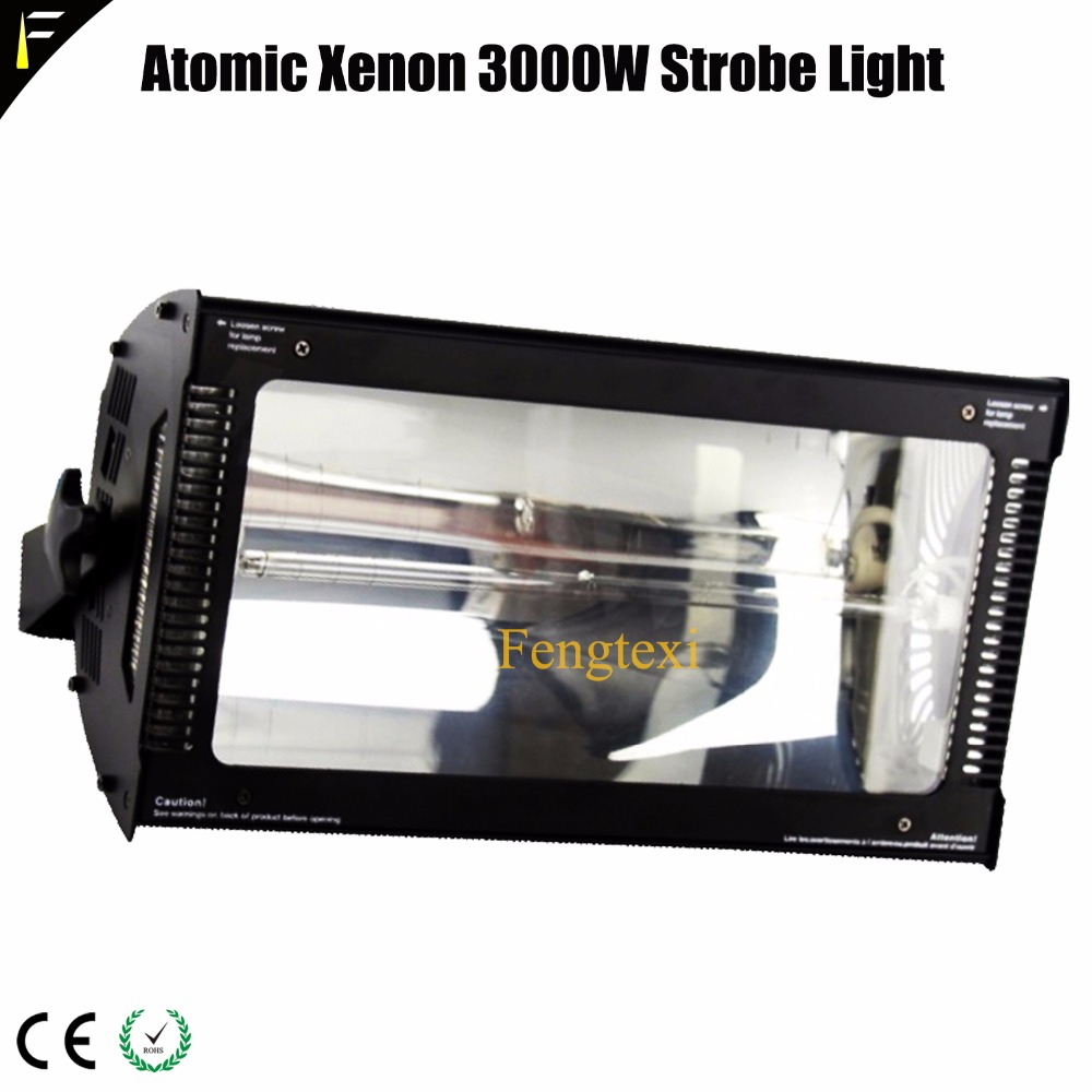 Atomic 3000 Watt DMX Xenon Strobe Light atomic3000 Blinder Flash Lighting Device Strobes SpotlightsAtomic 3000 Watt DMX Xenon Strobe Light atomic3000 Blinder Flash Lighting Device Strobes Spotlights