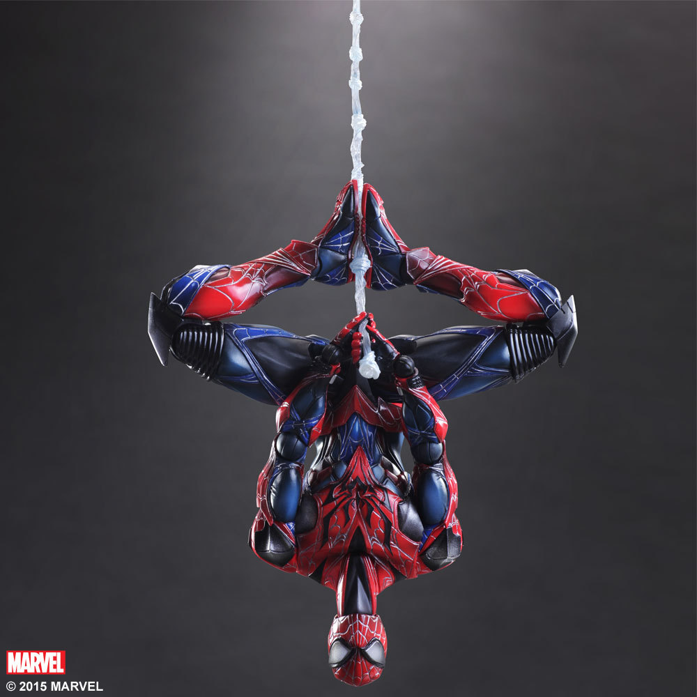 Hot ! NEW 1pcs 26cm Justice league super hero spider-man spider man movable PVC Action Figure toys dolls spider man new york stories