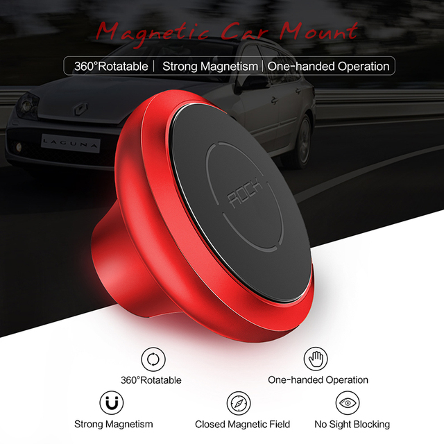 Magnetic Car Phone Holder, ROCK 360