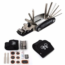 купить 1 Set Bike Bicycle Portable Cycling Tyre Repair Kit Tool With Tool Bag Free  Shipping дешево