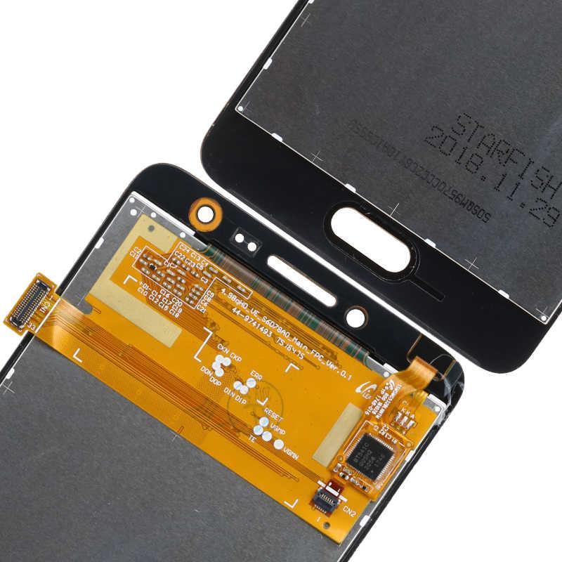 """מקורי 5.0 """"מסך מגע Digitizer G532 LCD עבור סמסונג גלקסי J2 ראש SM-G532 SM-G532F G532F LCD החלפה"""