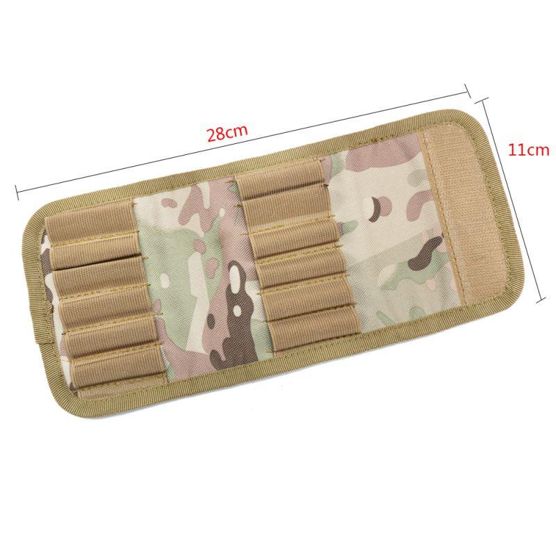 Bello Esterno Della Cartuccia Del Fucile Imbottito Holder Carrier 12 Fucile 30-06 Shotgun Portafoglio Caccia Accessori Pallottola Del Sacchetto Del Supporto