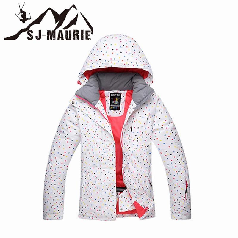 Snowboard Ski Jacket Women Winter Waterproof Ski Suit Outdoor Camping Skating Female Thick Coat все цены