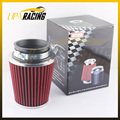 universal car high flow cold air intake air inlet air intake system mushroom head air filter neck 75mm/70mm/65mm/ 60mm