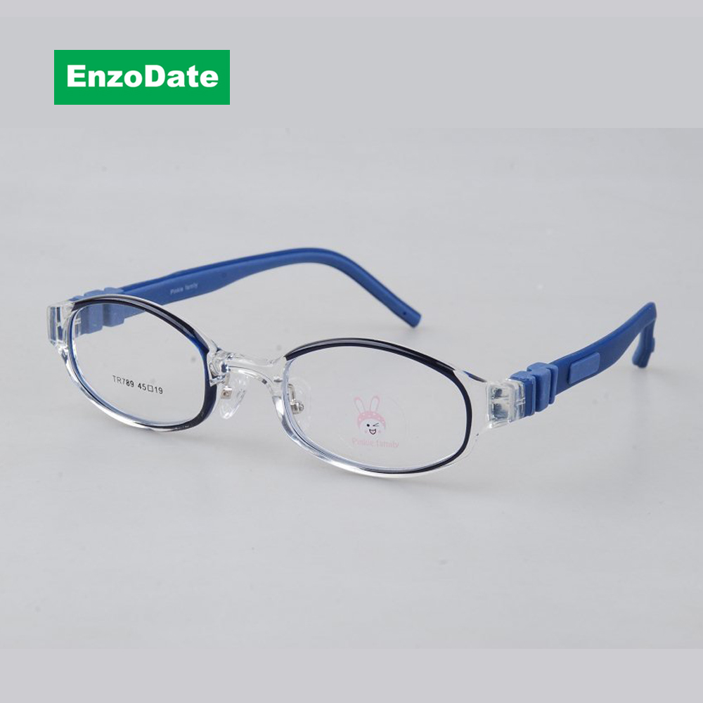 ٩(^‿^)۶Kids Eyeglasses Frame Size 45mm Flexible Silicone Bendable ...