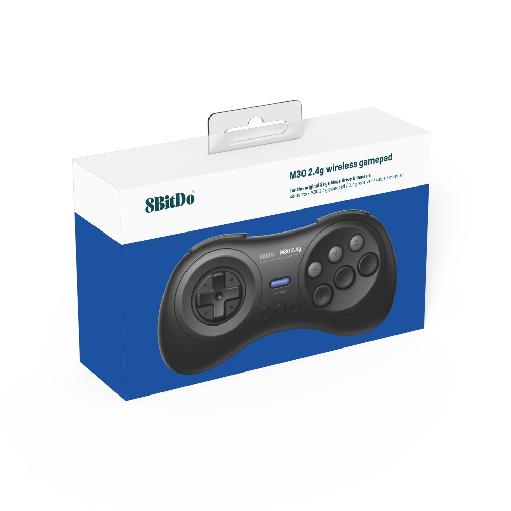 8BitDo M30 2.4G Wireless Gamepad for the Original Sega Genesis and Sega Mega Drive - Sega Genesis 13