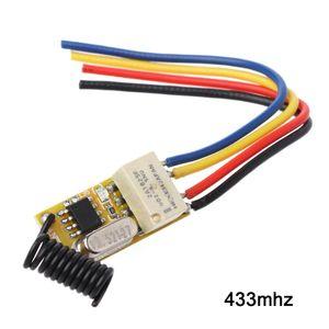 Image 2 - リモートスイッチ DC3.7V 4.2 V 5 V 6 V 7.4 V 8.4 V 9 V 12 V 出力 0 12V ドライ接点リレースイッチング値 NO COM NC 315 MHz 433 MHz