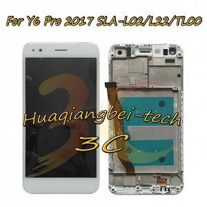 Image 2 - 5.0 new new novo para huawei y6 pro 2017 SLA L02 SLA L22 SLA TL00 display lcd completo + tela de toque digitador assembléia com quadro rastreamento