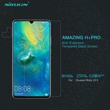 Verre trempé de protection pour Huawei Mate 20 X NILLKIN étonnant H + PRO 0.2mm Film de protection décran en verre Huawei Mate 20x5G