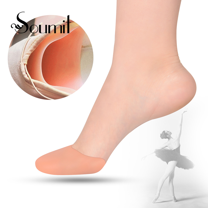 Soumit Stretch Gel Ballet Pad Bunion Protector Ease Callus Foot Care Soft Pointe Pad for Ballet Pointe Shoes Insole Dancing shoe 2017 spring and autumn hot selling women s comfortable diabetic shoes foot swollen foot care shoe breathable flat bunion shoes