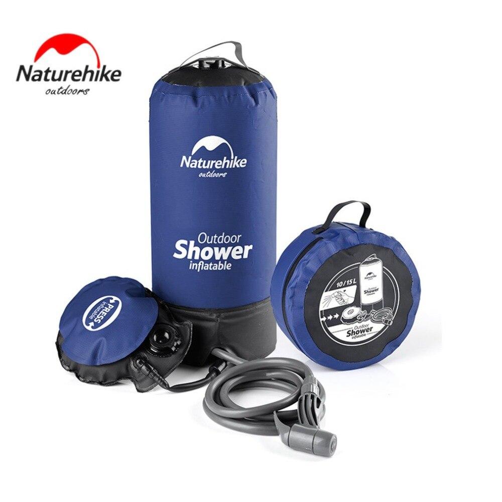 11L Pvc Portable solaire chauffé extérieur gonflable douche pression douche sac d'eau Portable Camp douche randonnée stockage de l'eau