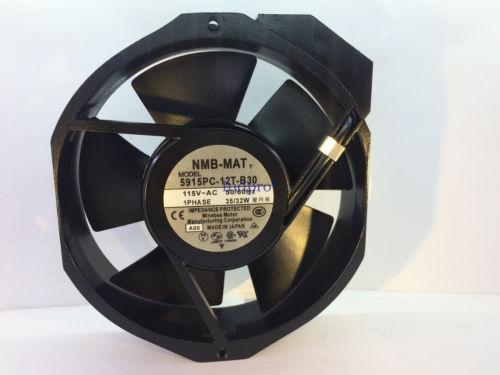 NMB-MAT 5915PC-12T-B30-A00 Fan 115V 50/60Hz 35/32W 5915PC-12T-B30 NEW
