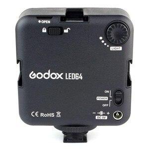 Image 4 - Godox LED64 wideo Panel LED lampa makrofotografii dla Canon Nikon kamery