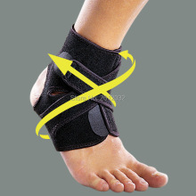 Adjustable Sports Elastic Ankle Support Breathable Ankle Brace Wrap Pa