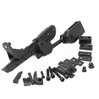 For AK 47 74 Aluminum 20mm Tactical Standard Ak Side Bracket Solid Side Scope Mount Picatinny